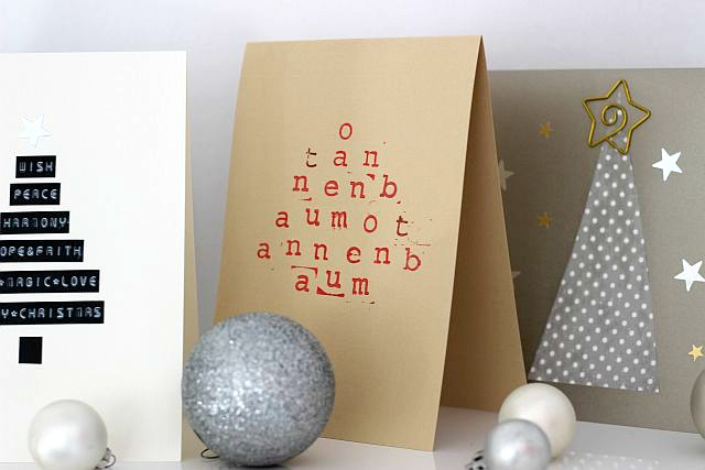 TheGoldenKitz_DIY_Last Minute Weihnachtskarten Selbstgemacht_1 ...