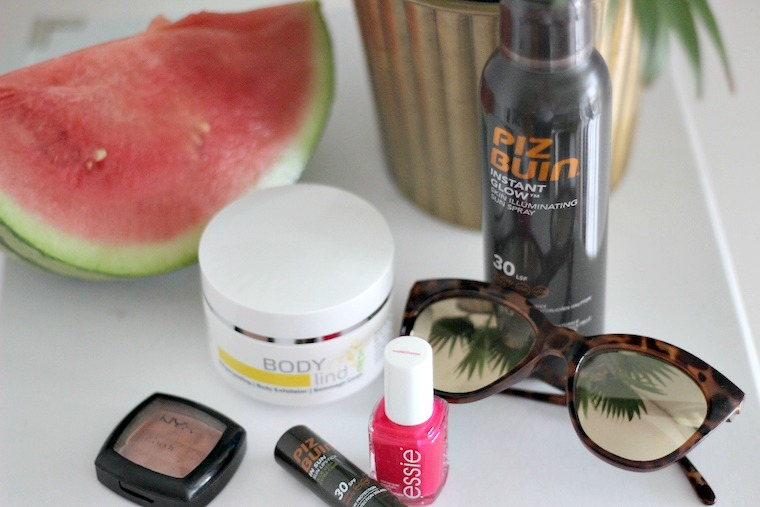Beauty Favorites Sommer Piz Buin Essie Watermelon Nyx Terracotta_1