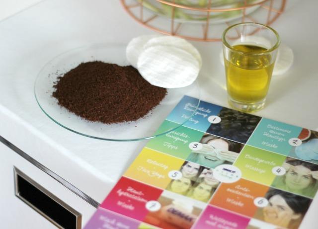 Demakeup Detox Challenge_Kaffee Öl Peeling