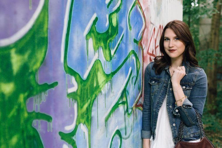 Jeansjacke Kombination Style Jeans Denim Jacket (1)