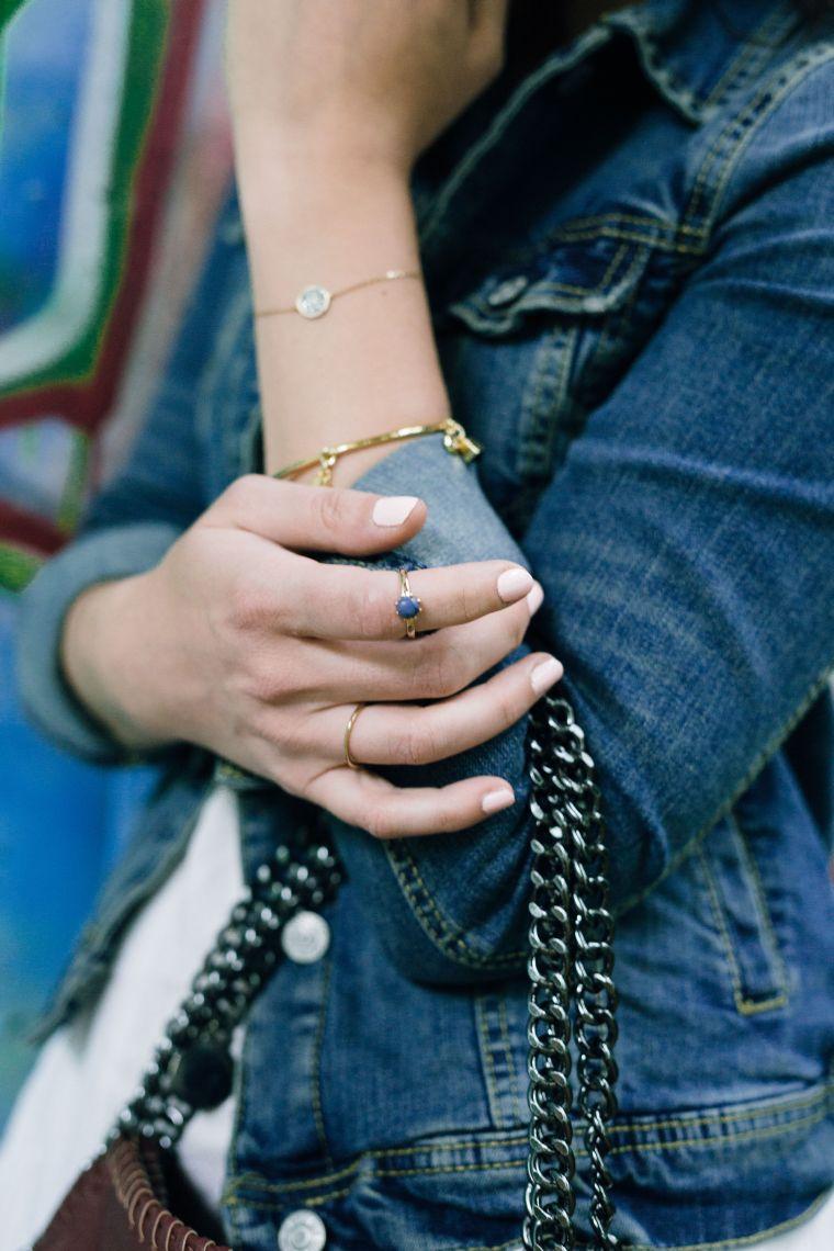 Jeansjacke Kombination Style Jeans Denim Jacket (2)