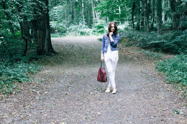Jeansjacke Kombination Style Jeans Denim Jacket (3)