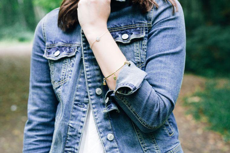 Jeansjacke Kombination Style Jeans Denim Jacket (4)