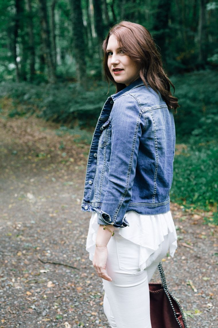 Jeansjacke Kombination Style Jeans Denim Jacket (7)