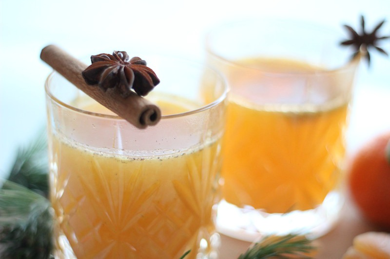 Happy Day Saft Mandarinen Punch Adventszeit Mandarinensaft_1