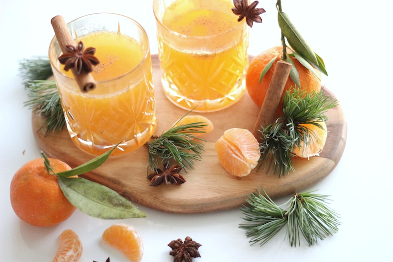 Happy Day Saft Mandarinen Punch Adventszeit Mandarinensaft_2
