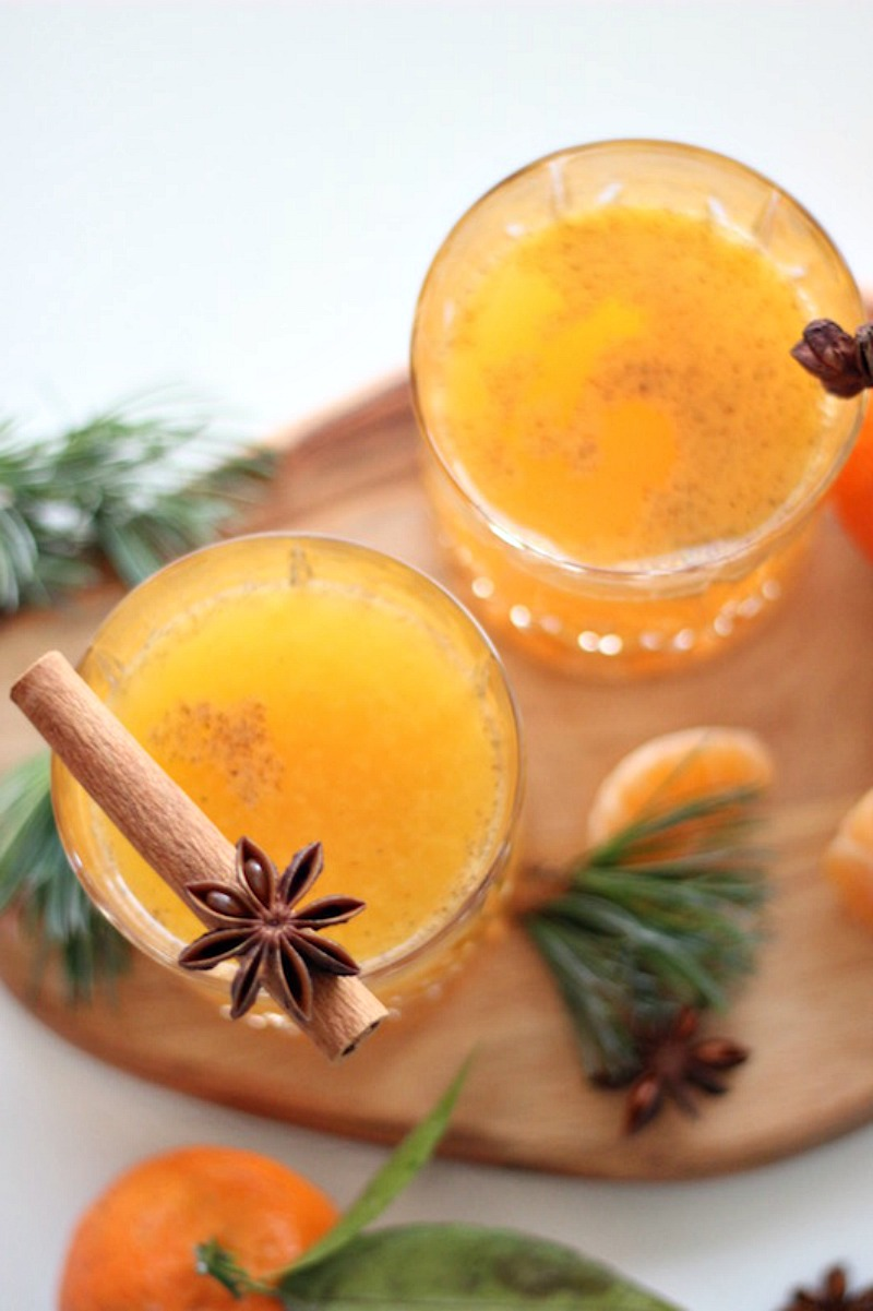 Happy Day Saft Mandarinen Punch Adventszeit Mandarinensaft_4
