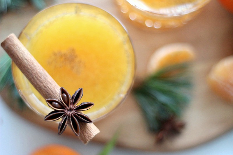 Happy Day Saft Mandarinen Punch Adventszeit Mandarinensaft_6