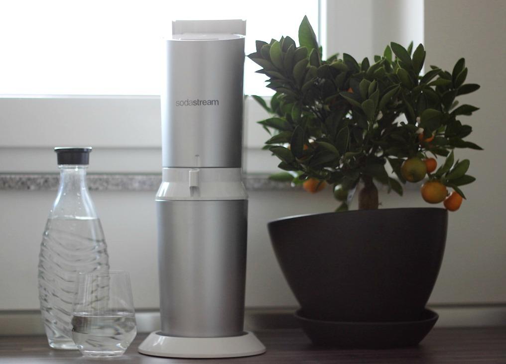 SodaStream Wassersprudler Erfahrungsbericht Wasser trinken_1