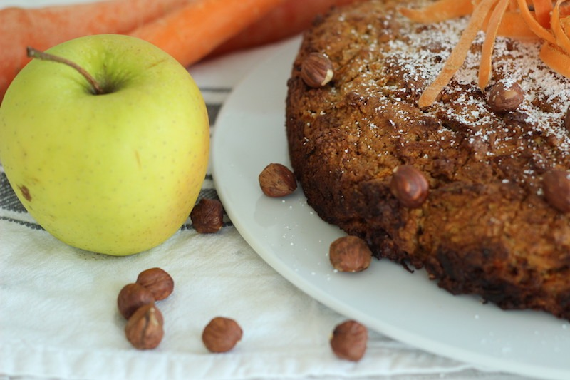Apfel-Möhrenkuchen mit Mandeln_Foodblog Köln_3