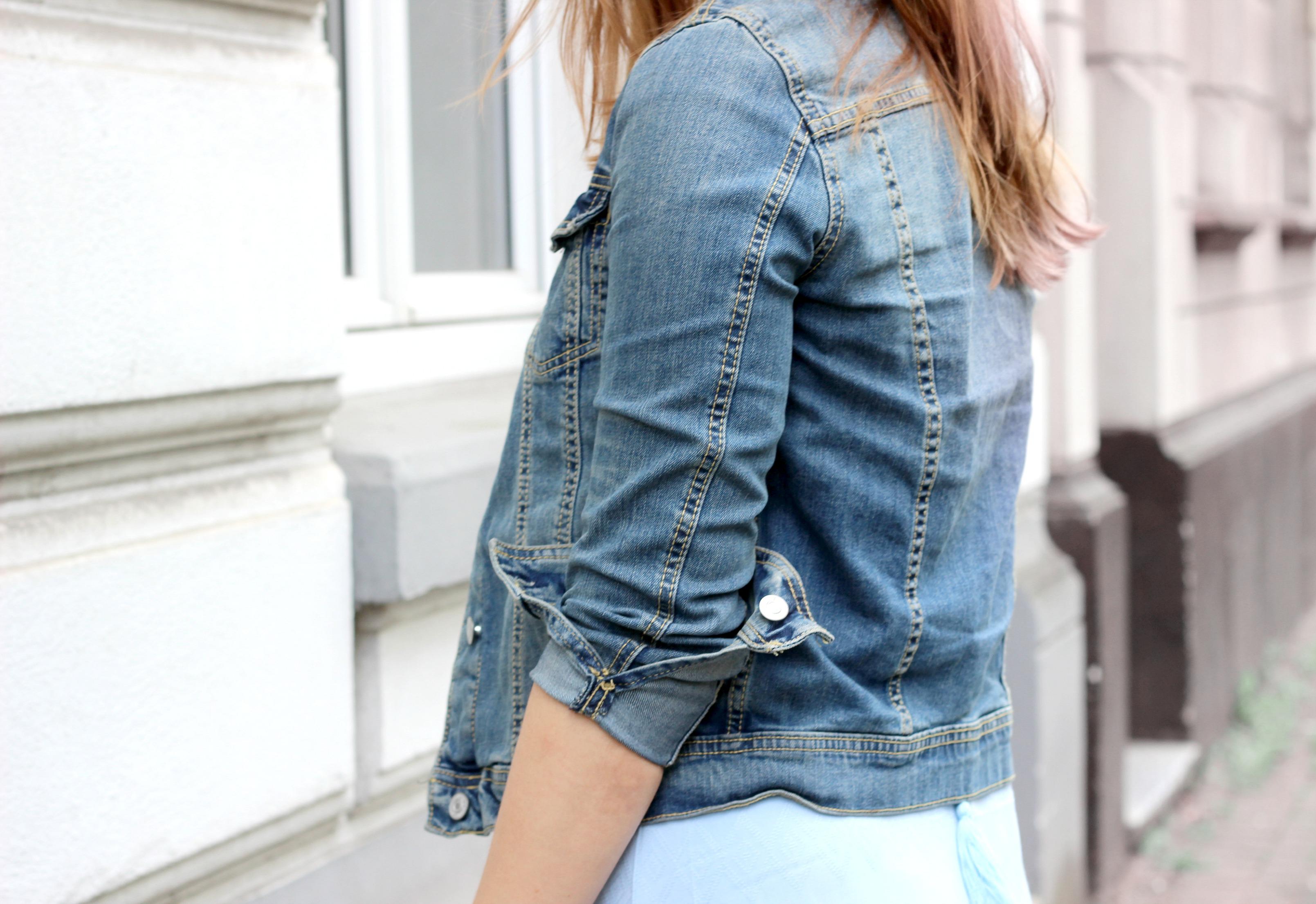 Fashionblog Koeln_Modeblog_Blaues Kleid_Jeansjacke_4